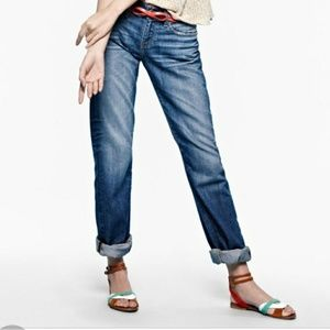 AG Tomboy relaxed straight jeans 26 27